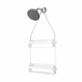 UMBRA FLEX SHOWER CADDY WHITE 023460-660