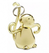 UMBRA ZOOLA MONKEY RING HOLDER BRASS 299256-104 STOJAK NA BIŻUTERIĘ