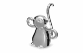 UMBRA ZOOLA MONKEY RING HOLDER CHORME STOJAK 299256-158