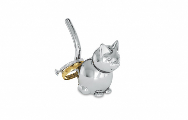 UMBRA ZOOLA CAT RING HOLDER CHROME 299212-158